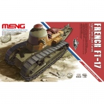 French FT-17 Light Tank (Cast Turret) - Meng Model 1/35