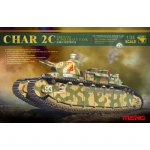 French Char C2 - Meng Model 1/35