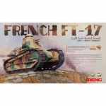 French FT-17 Light Tank (Riveted Turret) - Meng Model 1/35
