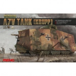 German A7V Tank (Krupp) - Meng Model 1/35