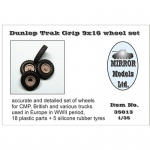 Dunlop Trak Grip 9x16 Wheel Set for CMP and British...