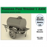 Russian Fuel Trailer 1 Axle - Mirror Models 1/35