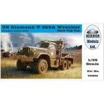 US Diamond T969A Wrecker (Hard Top Cab) - Mirror Models 1/35