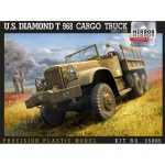 US Diamond T968 Cargo Truck (Open Cab) - Mirror Models 1/35
