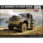 US Diamond T972 Dump Truck (Late open Cab) - Mirror...