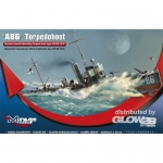A 86 German Torpedoboat A/III Class - Mirage Hobby 1/350