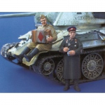 Akkordeonspieler & NKVD-Offizier - Plus Model 1/35