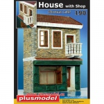 Haus mit Shop - Plus Model 1/35