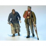 Disable Man with Granny - Plus Model 1/35
