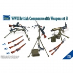 WWII British Commenwealth Weapon Set B - Riich Models 1/35