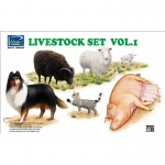 Livestock Set Vol.1 - Riich Models 1/35