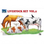 Livestock Set Vol.2 - Riich Models 1/35