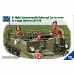British Commenwealth Universal Carrier Crew in Winter...