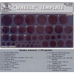 Tank Wheels Template - 1/35