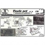 Tools Set No.2 (for Zimmerit application) - Royal Model 1/35