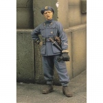 Italian Officer Btg. Azzurro WWII - Royal Model 1/35
