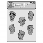 German Heads WWII No.1 - Royal Model 1/35
