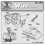 0,9mm Wire No.2 - Royal Model 1/35