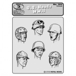 US Heads WWII - Royal Model 1/35