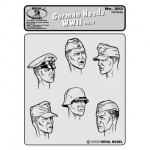 German Heads WWII No.2 - Royal Model 1/35