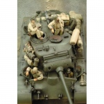 M26 Pershing Crew WWII - Royal Model 1/35