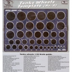 Tank Wheels Template No.2 - 1/35
