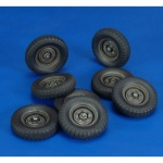 Krupp Protze Wheels (Tamiya) - Royal Model 1/35