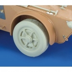 Autoblinda AB 41 Libia Wheels - Royal Model 1/35