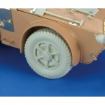 Autoblinda AB 41 Artiglio Wheels - Royal Model 1/35