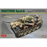 Panzer V Panther Ausf. G mit Interior - Rye Field Model 1/35
