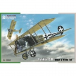 Fokker D.II Black & White Tail - Special Hobby 1/32