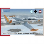 Fouga CM.170 Magister German, Finnish and Austrian -...