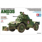 French Armored Car AMD35 (1940) - Tamiya 1/35