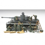 German Tank Crew Field Maintenance Set - Tamiya 1/48
