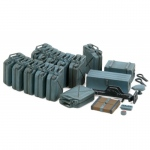 German Jerry Can Set WWII (Early Type) - Tamiya 1/35