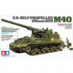U.S. Self-Propelled 155mm Gun M40 - Tamiya 1/35