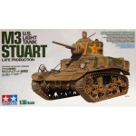 U.S. M3 Stuart (late Production) - Tamiya 1/35