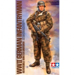 German Infantryman (Winter Uniform) - Tamiya 1/16