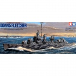U.S. Navy Destroyer DD-445 Fletcher - Tamiya 1/350