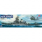 U.S. Battleship BB-62 New Jersey - Tamiya 1/350