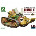 French Light Tank Renault FT Char Canon - Takom 1/16