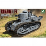 French Light Tank Renault FT 3in1 - Takom 1/16