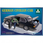 German Civilian Car (BMW) w. Gas Rockets - Takom 1/35