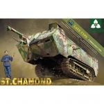 French Heavy Tank St.Chamond (late Type) - Takom 1/35