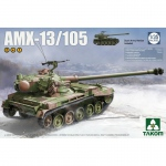 French Light Tank AMX-13/105 (2in1) - Takom 1/35
