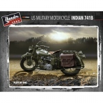 US Military Motorcycle Indian 741B - Thunder Model 1/35