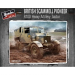 British Scammell Pioneer R100 Heavy Artillery Tractor -...