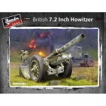 British 7,2 Inch Howitzer - Thunder Model 1/35