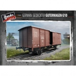 German Gedeckter Güterwagen G10 - Thunder Model 1/35