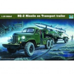 HQ-2 Missile on Transport Trailer - Trumpeter 1/35